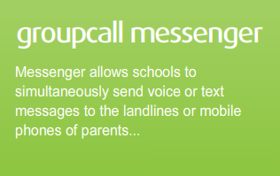 Messenger allows schools to simultaneously send voice or text messages to the landlines or mobile phones of parents.